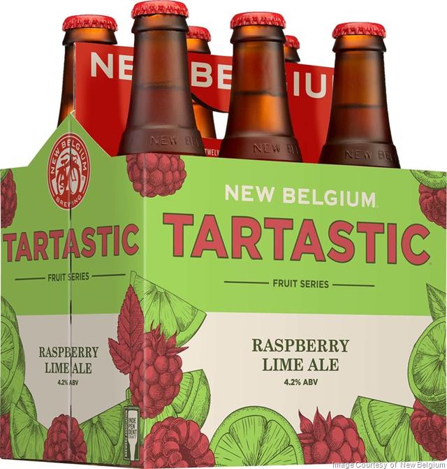 New Belgium Brewing Announces Tartastic Fruit Beer Series
