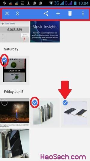 Hình 9 - Sao lưu ảnh với Google Photos trên điện thoại