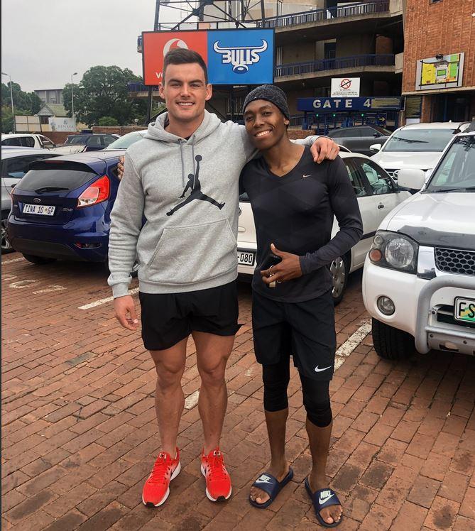 How Olympic Champion Caster Semenya Inspired Bulls Centre