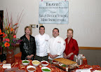 Bravo! Catering with it macaroni and cheese bar was a popular stop at the Celebrity Chefs fundraiser.