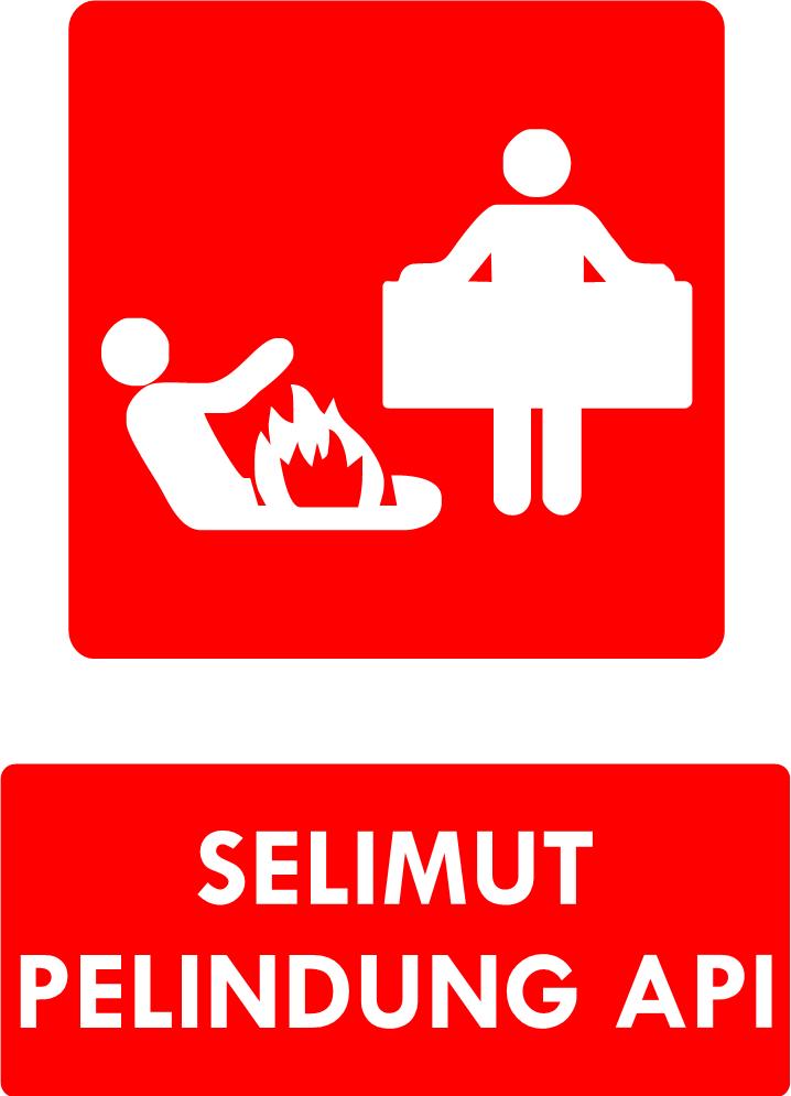Rambu Selimut Pelindung Api