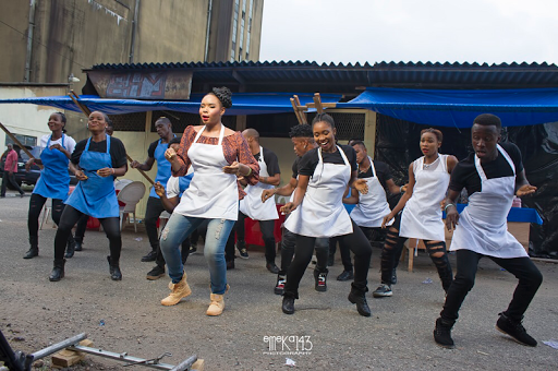 "GO BEHIND THE SCENES OF YEMI ALADE'S ""TUMBUM"" VIDEO, STARRING IME BISHOP & BEVERLY OSU"