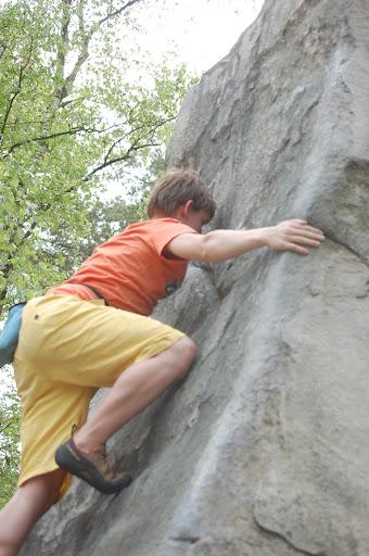 Boulderweekend Bleau april 2011