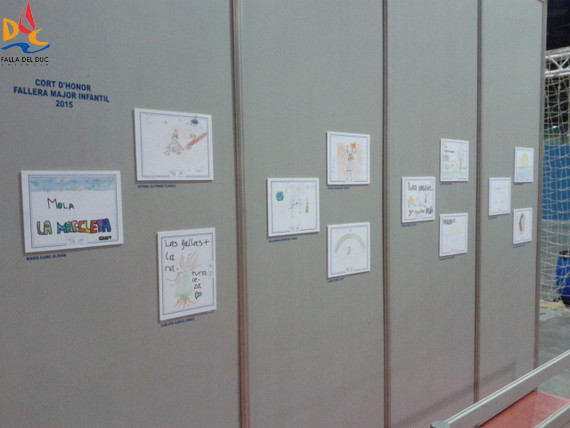 El stand de la JCF expone el dibujo de Aitana Rodríguez