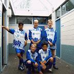 Dit was het team van de J J Boumanschool voor leerlingen van 12- 14 jaar Zij kwamen 1 doelpunt tekort om in de kruisfinales te komen Erg jammer
