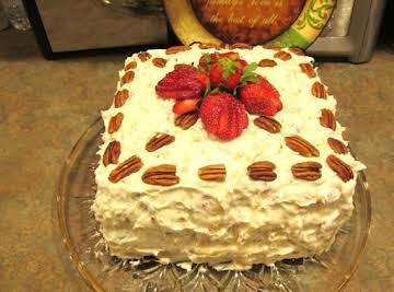 Over the Top Italian Cream Birthday Cake & Frstng