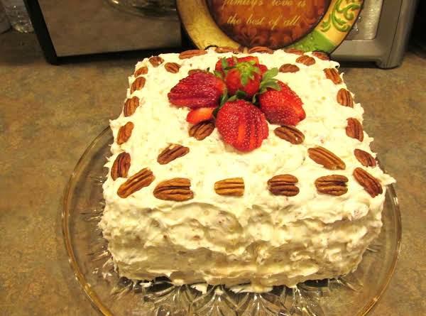 Over The Top Italian Cream Birthday Cake & Frstng Recipe