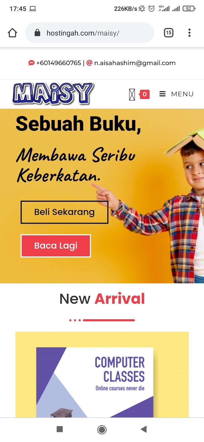 E-Commerce Website Yang Murah berada di Pasaran Sempena Bulan Kemerdekaan