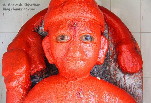 Hanuman Statue of Shinde Chhatri