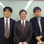 With Drs. C. Yokoyama & H. Okano