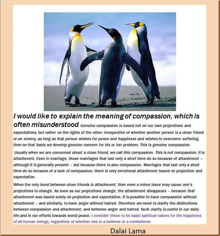 Dalai Lama-compassion