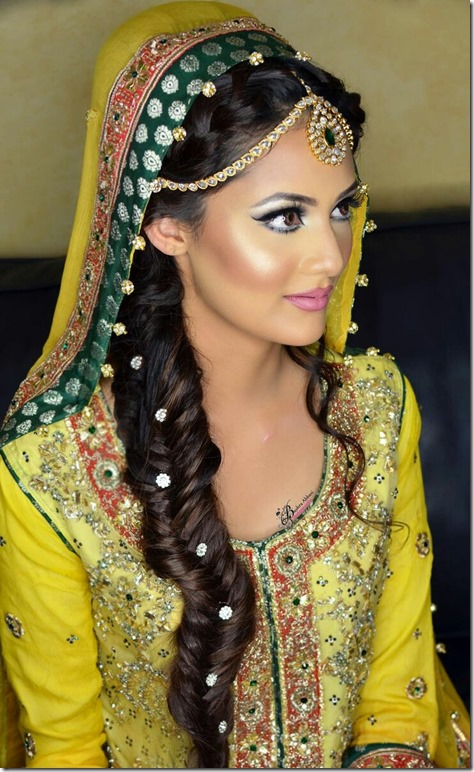 Indian Wedding Hairstyles (62)
