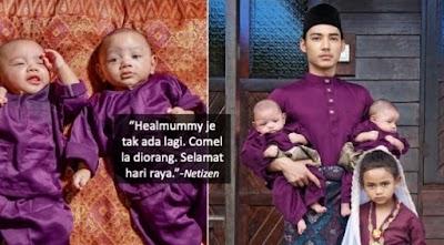 Heal Husaini ambil anak angkat lagi, peminat tanya bila nak ada 'Healmummy' pula