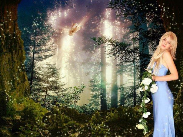 Light Green Wicca, Magic Beauties 1