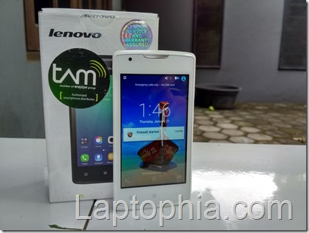 Review Lenovo A1000