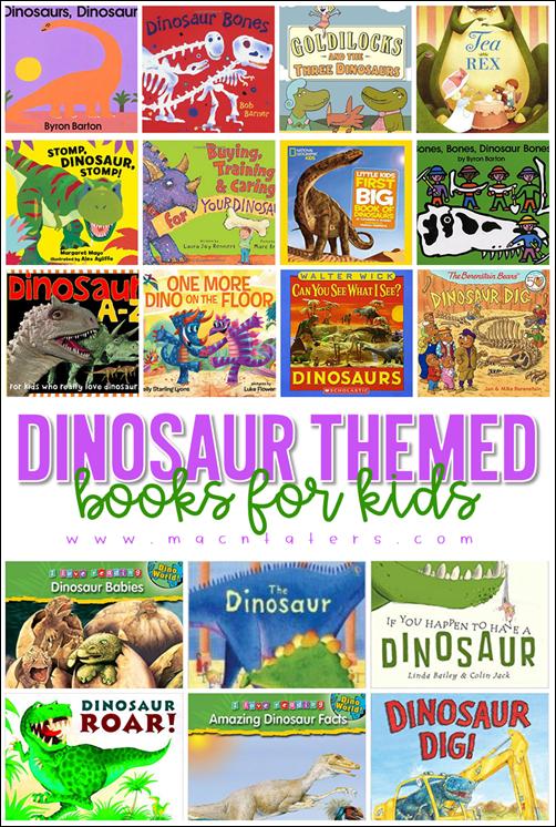 Dinosaur Themed Books for Kids