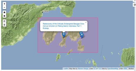BioStor updates: nicer map, reference matching service
