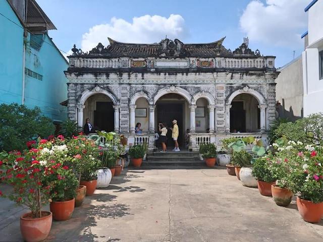 Nhà cổ Huỳnh Thủy Lê tại đường Nguyễn Huệ Sa Đéc