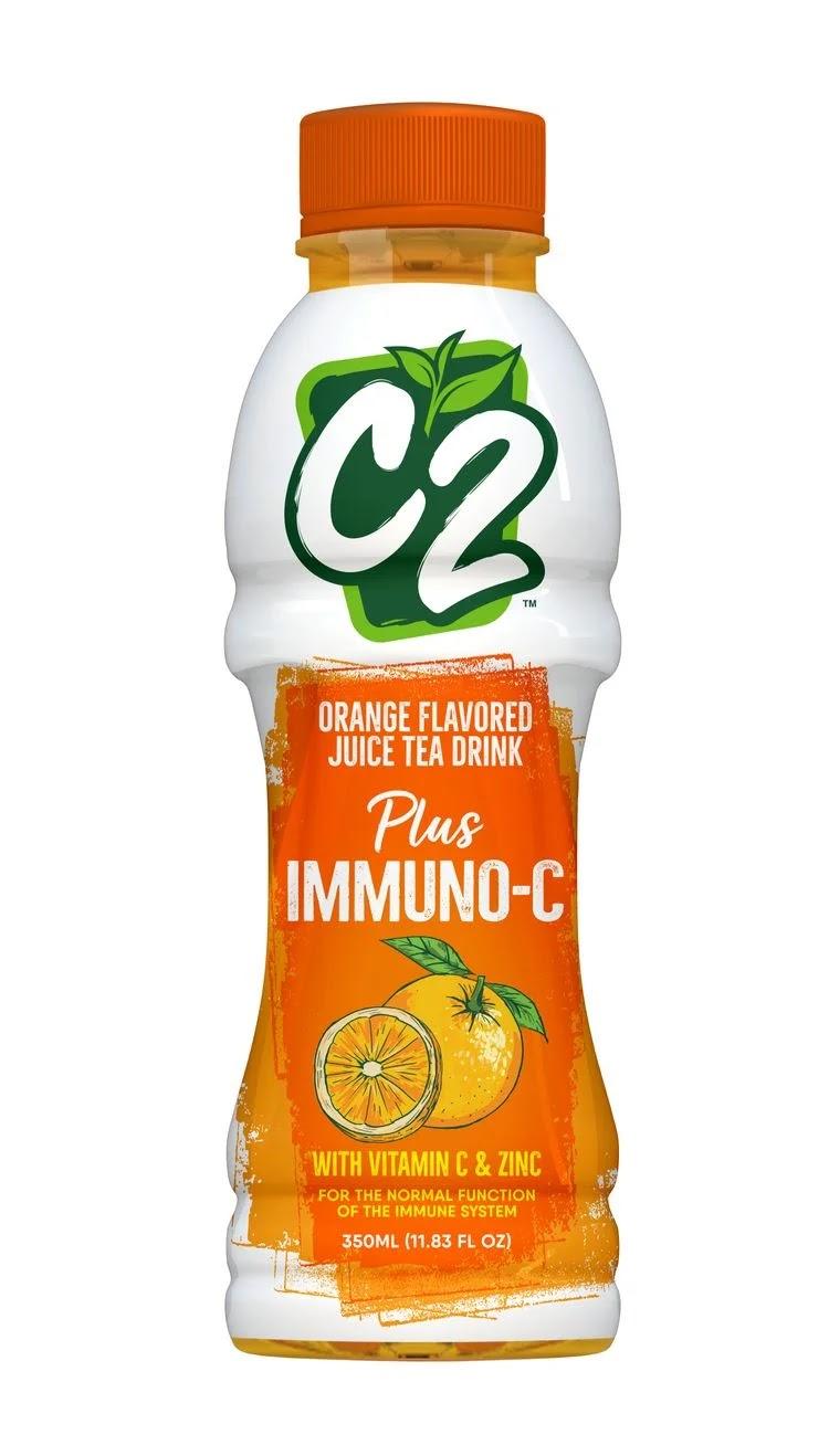 A bottle of C2 Plus Immuno-C