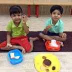 Circle Day celebrated by Nursery at Witty World (2015-16)