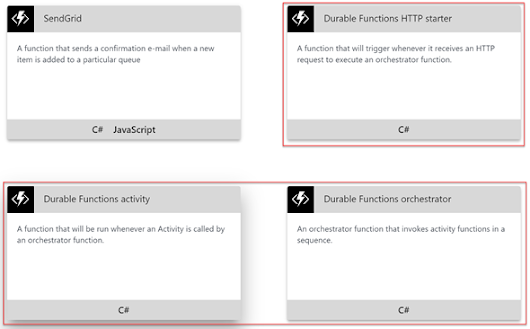 Durable Functions in Azure Functions for Function Chaining