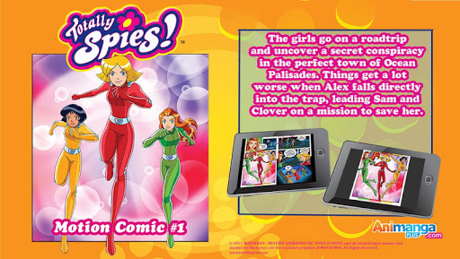 Totally Spies Motion Comic