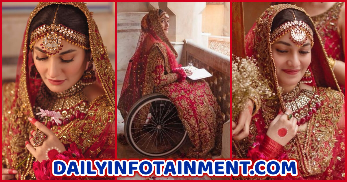 Muniba Mazari Features in Lajwanti Saancha campaign for Perfect Bride