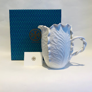 Tory Burch + Dodie Thayer NEW Lettuce Ware Pitcher
