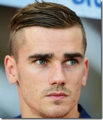 Soccer Player Haircut Antoine Griezmann