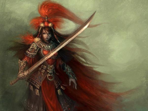 Red Samurai Knight, Warriors