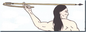 Atlatl-throwing