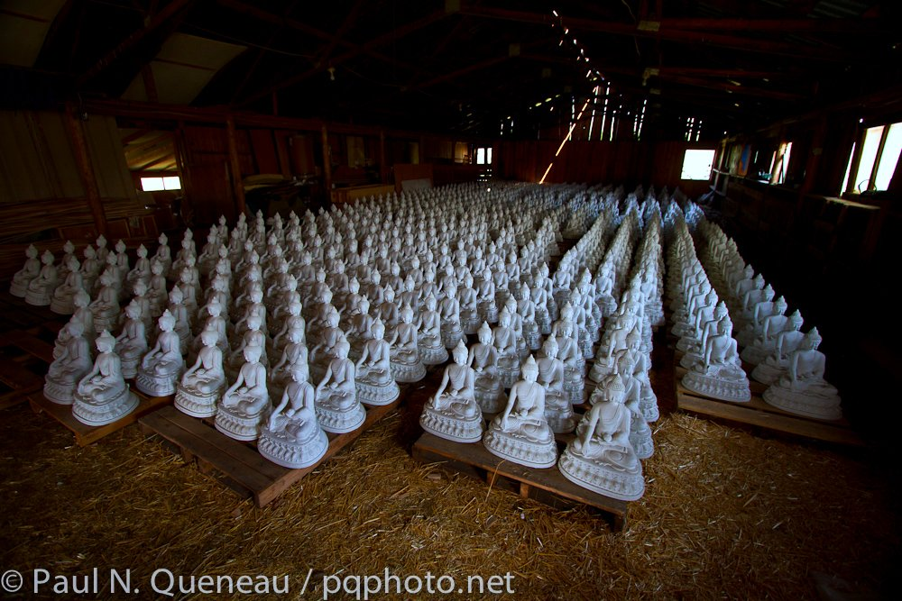 The Garden of One Thousand Buddhas prepares to live up to its name in the Jocko Valley, just north of Arlee.