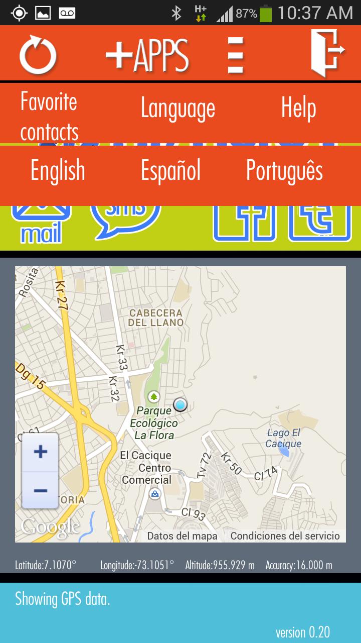 Скриншот Hi Here   Aquí Estoy