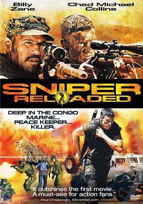 Poster Of Sniper: Reloaded (2011) Full Movie Hindi Dubbed Free Download Watch Online At Alldownloads4u.Com