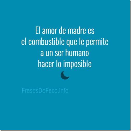 El amor de madre es el combustible que le permite a un ser humano hacer lo imposible