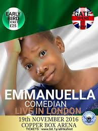 Video: 9 Facts You Probably Didn't Know About Emmanuella Of Mark Angel Comedy