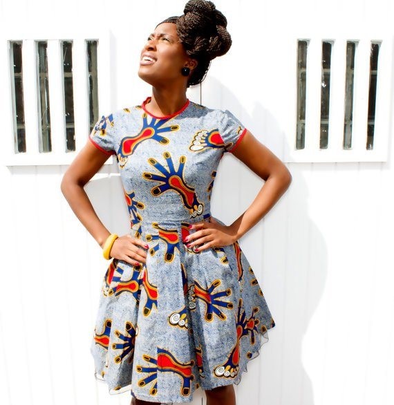 modern kitenge outfits in africa  2017