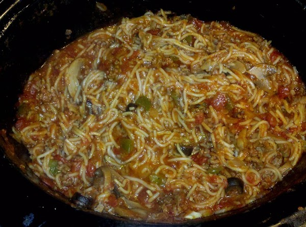 Freakin Good Crock Pot Spaghetti!! Recipe