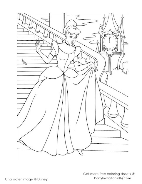 Disney Princess Coloring Pages  Disney Princess Coloring Pages