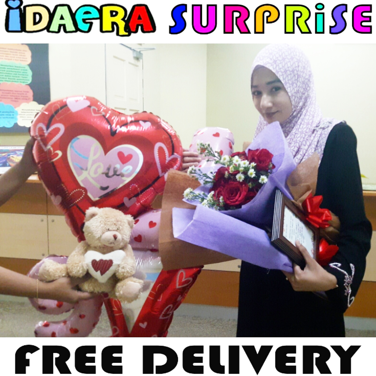 IdaEra Cupcakes & Cookies: SURPRISE BIRTHDAY DELIVERY KE