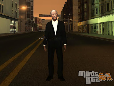 Skin Morgan Freeman para GTA San Andreas