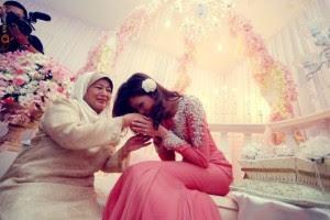 gambar majlis pertunangan shera aiyob dan zahiril adzim