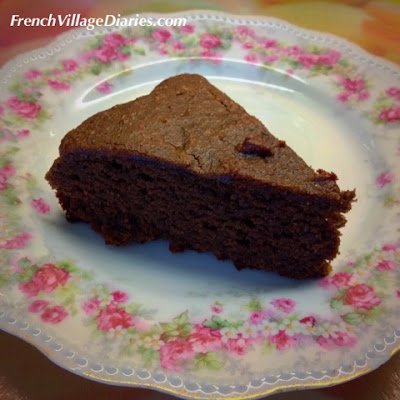 French Village Diaries Nutty Chocolate Cake recipe