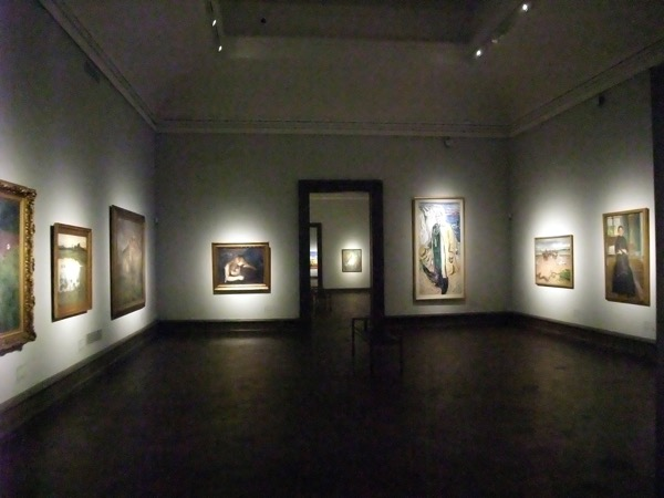 Gallery to ourselves