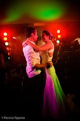 Foto do casamento de Beta e Bruno. Jockey Club do Centro, Rio de Janeiro, RJ.