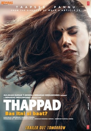 Poster Of Thappad 2020 Watch Online Free Download