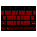 GB keyboard with night mode icon