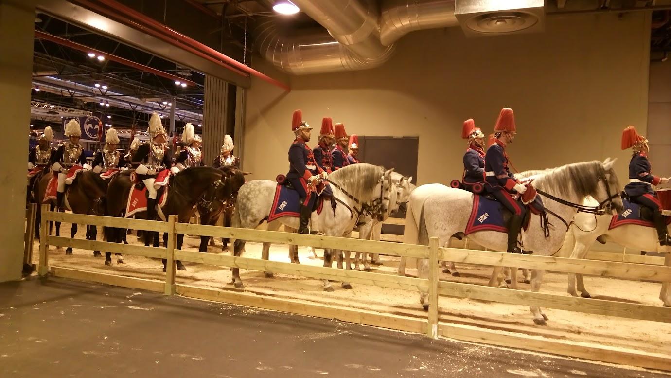exhibición caballos en ifema 2016