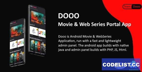 Dooo v1.5.0 - Movie & Web Series Portal App - nulled