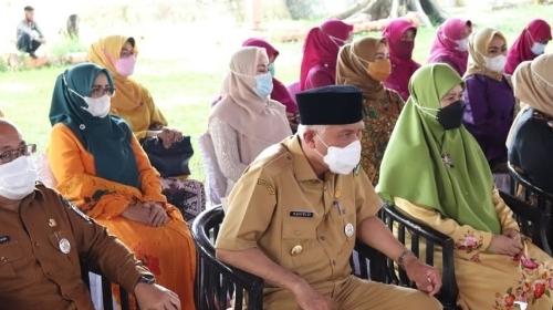 Buka Bazar Ramadan, Gubernur Mahyeldi Minta Patuhi Prokes Covid-19